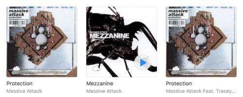 Massive Attack albums